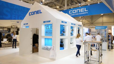 CONEL Stand